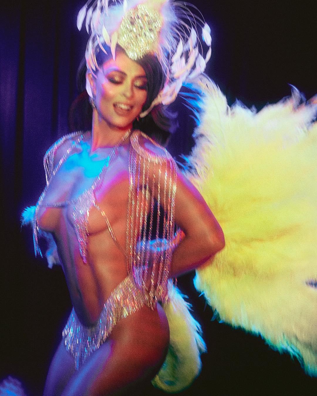 Juliana Paes assume-se pronta para o Carnaval, mas é a ousadia que dá que falar
