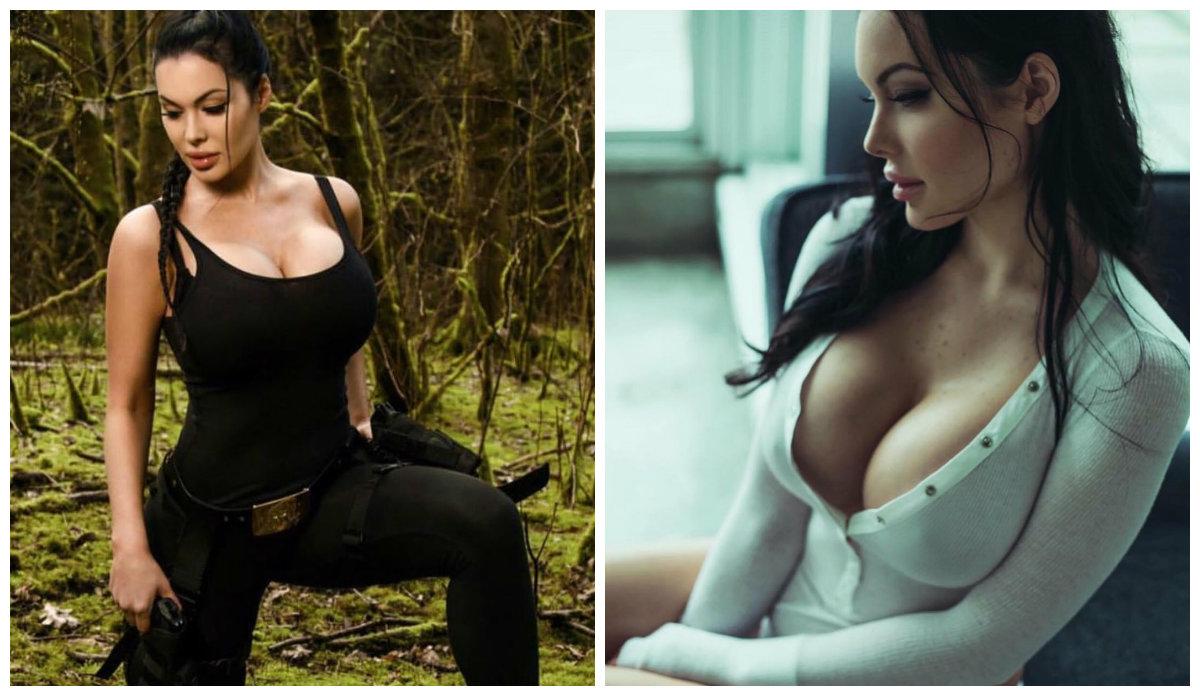 Veronika Black, a sósia de Angelina Jolie que intimida os homens