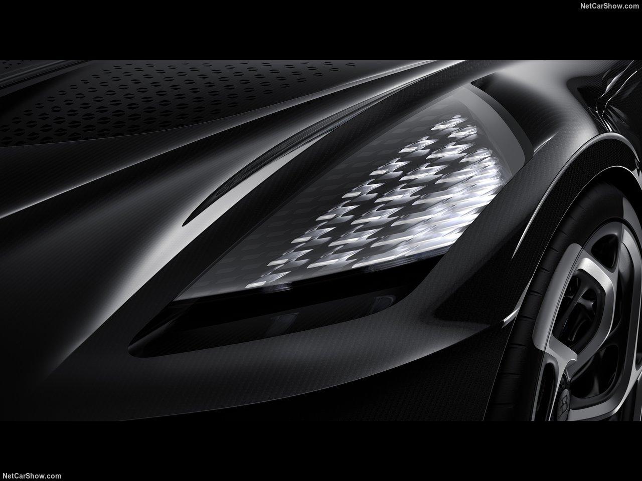 Bugatti La Voiture Noir, o carro novo mais caro de sempre que custa 11 milhões de euros
