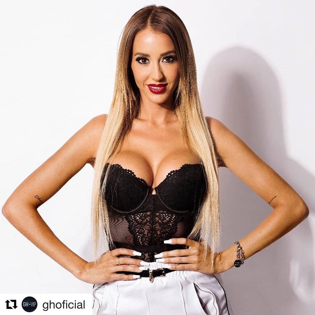 Aurah Ruiz, a ex de Jesé Rodríguez, diz que no seu corpo o principal vem de fábrica