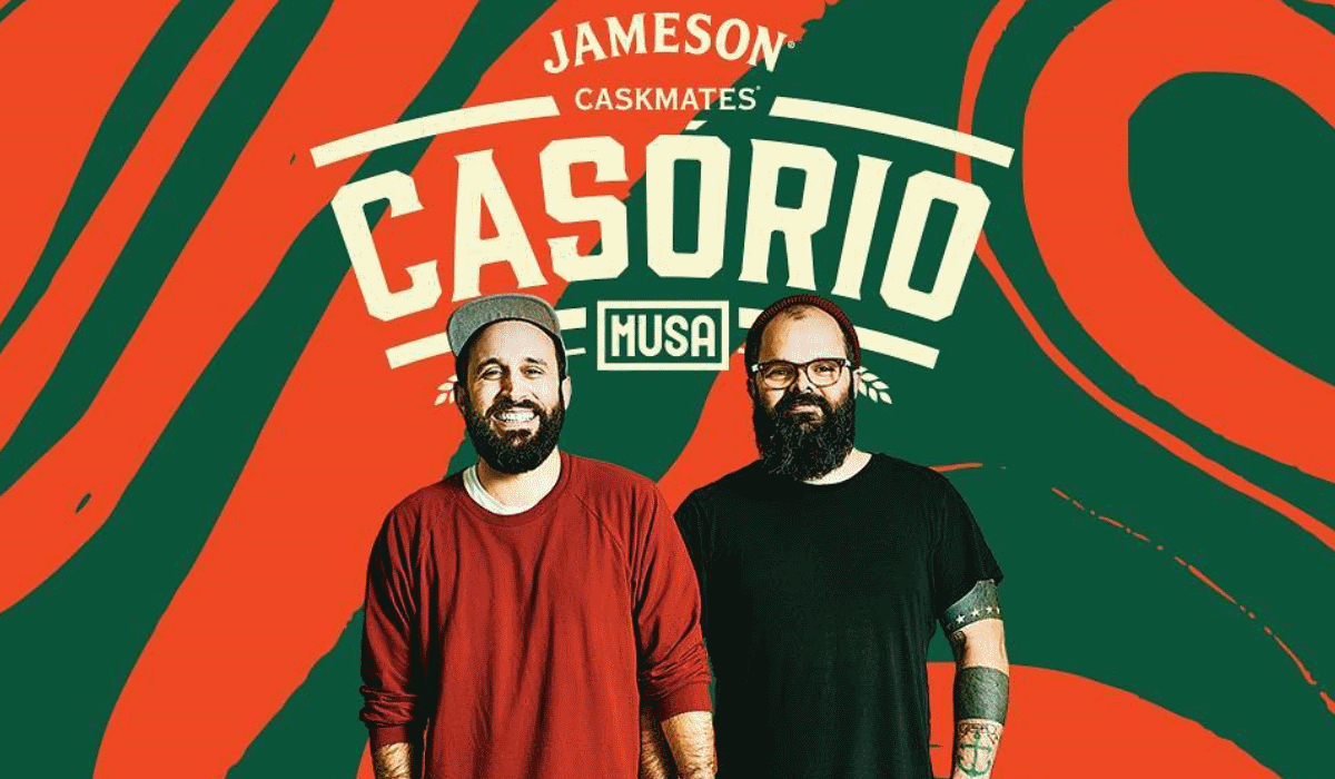 Jameson e Musa juntam-se para dar música