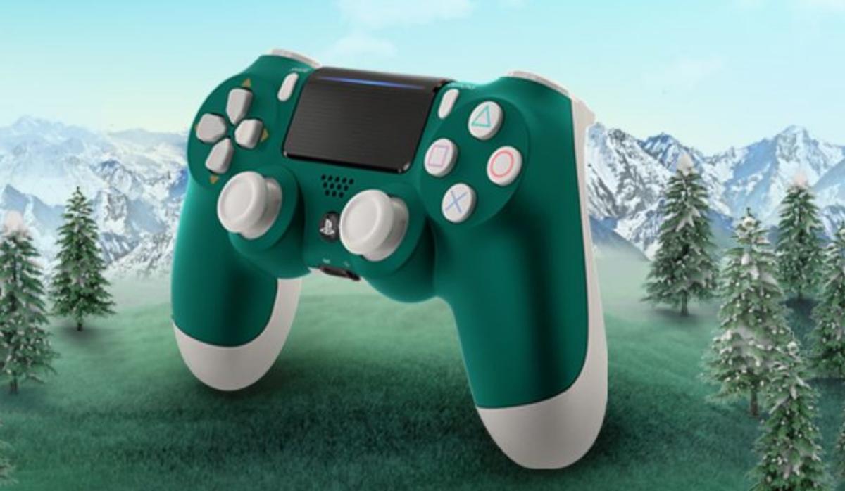 Alpine Green, o novo comando da PS4 que se inspira nos Alpes