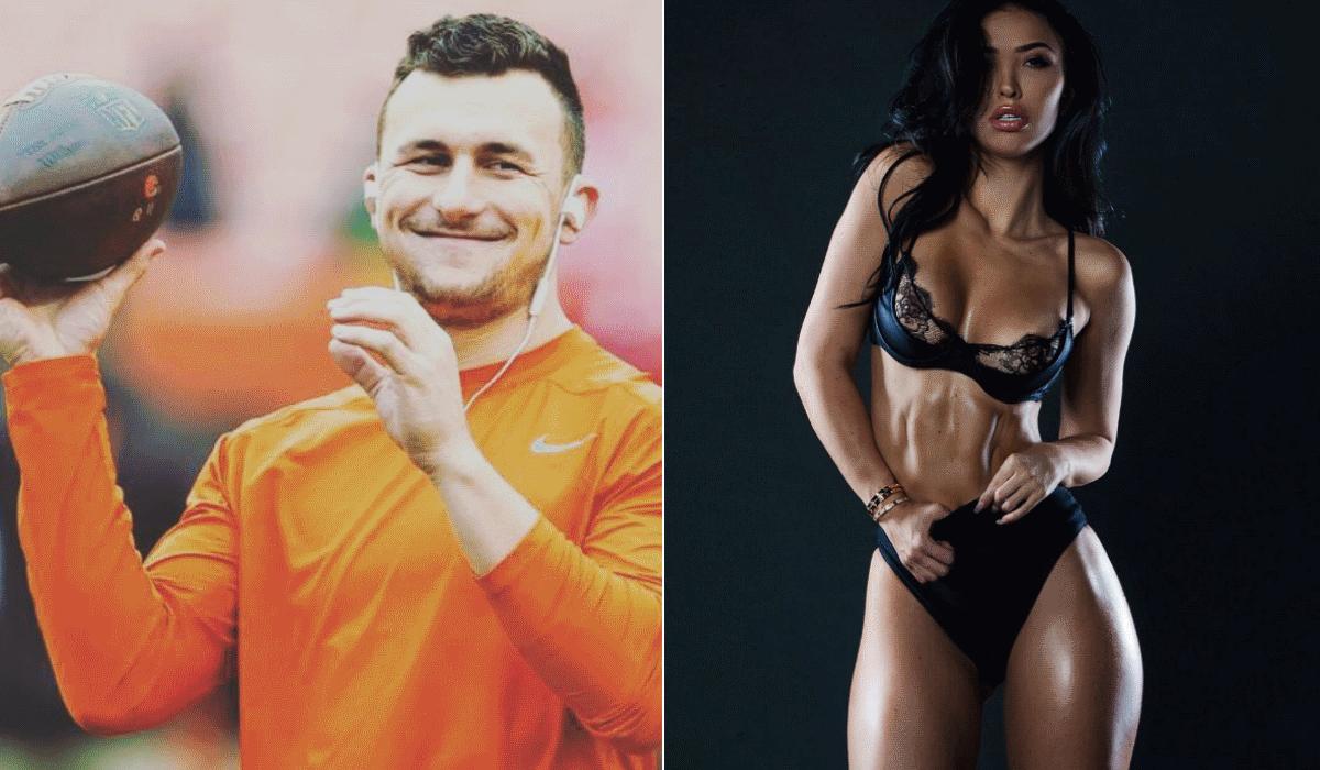 """Johnny Manziel, o jogador """"maldito"""" do futebol americano que não tem sorte ao jogo nem ao amor"""