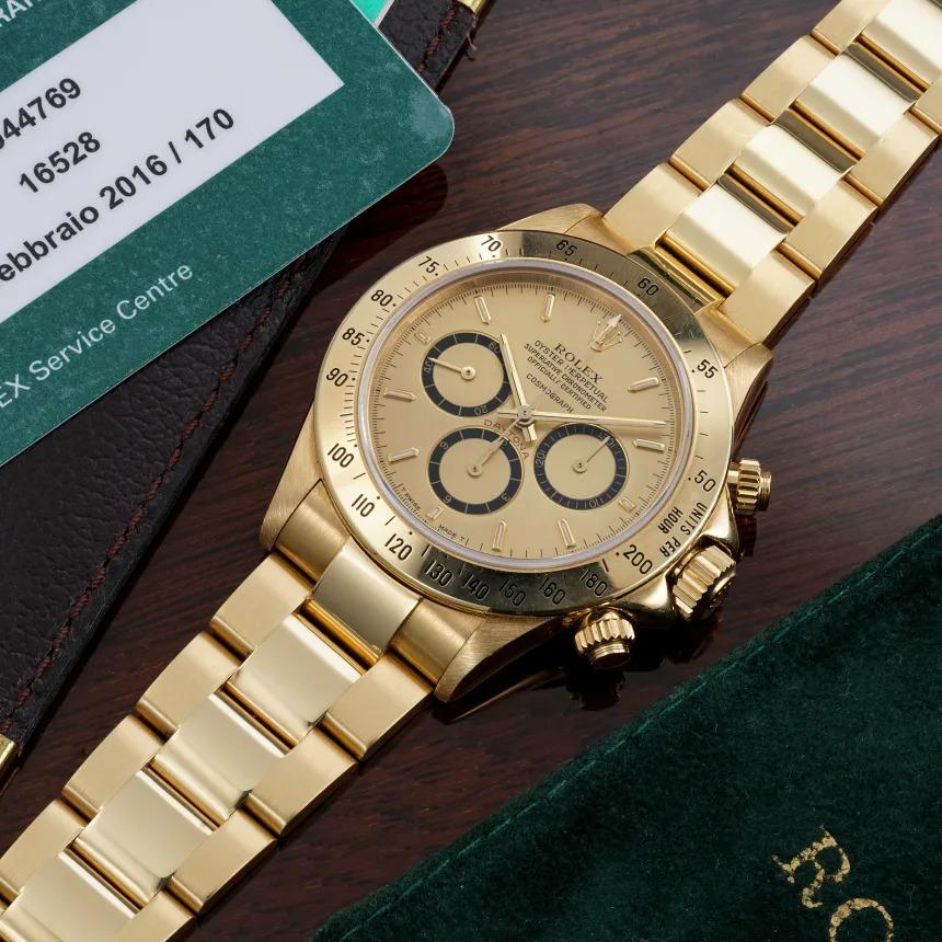 Este Rolex Daytona de ouro, que Ayrton Senna ofereceu ao mentor, pode ser seu