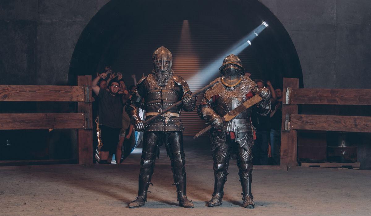 """""""Knight Fight"""", as batalhas mais duras da televisão chegam a Portugal"""