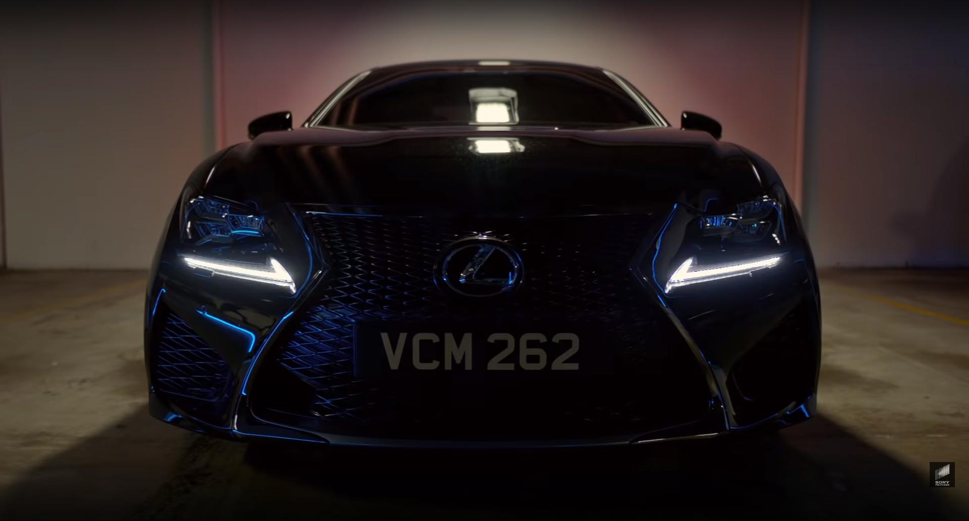 """Lexus RC F, o coupé que combate os extraterrestres em """"MIB: Homens de Negro, Força Internacional"""""""