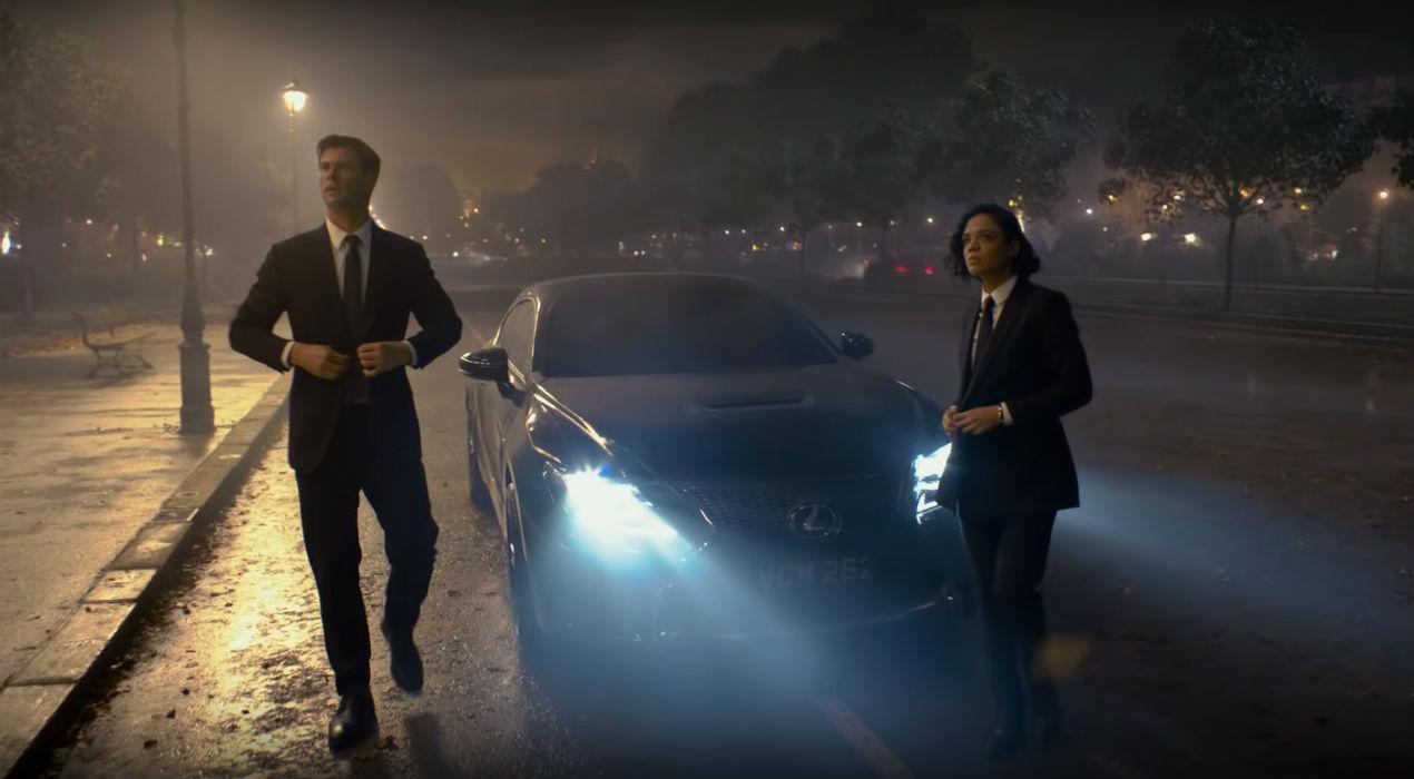 """O novo filme da saga """"MIB: Homens de Negro"""" aposta na Lexus para combater os extraterrestres"""