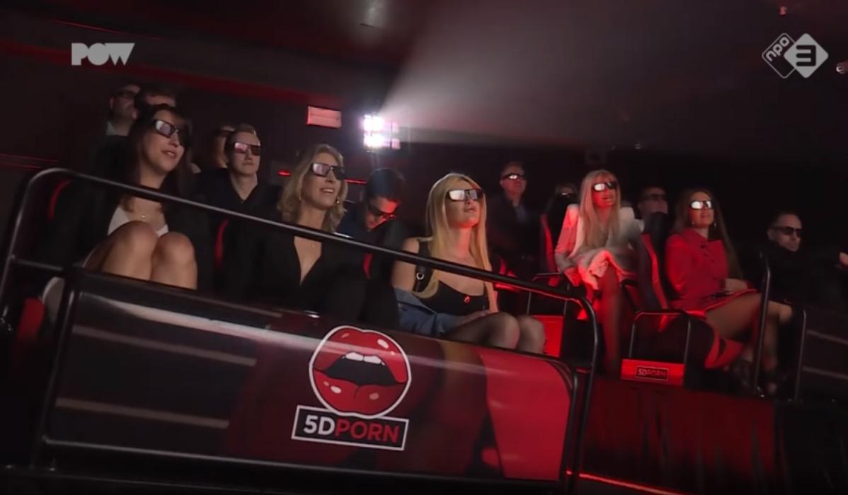 Já abriu a primeira sala de cinema pornográfico 5D