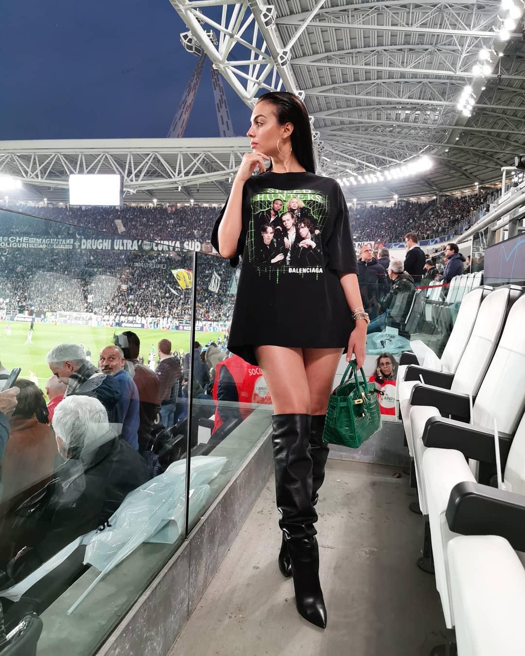 Georgina Rodríguez, a única vitória de Cristiano Ronaldo e da Juventus