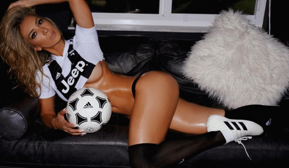 Livia Gullo prefere Messi mas também tem amor para dar a Cristiano Ronaldo