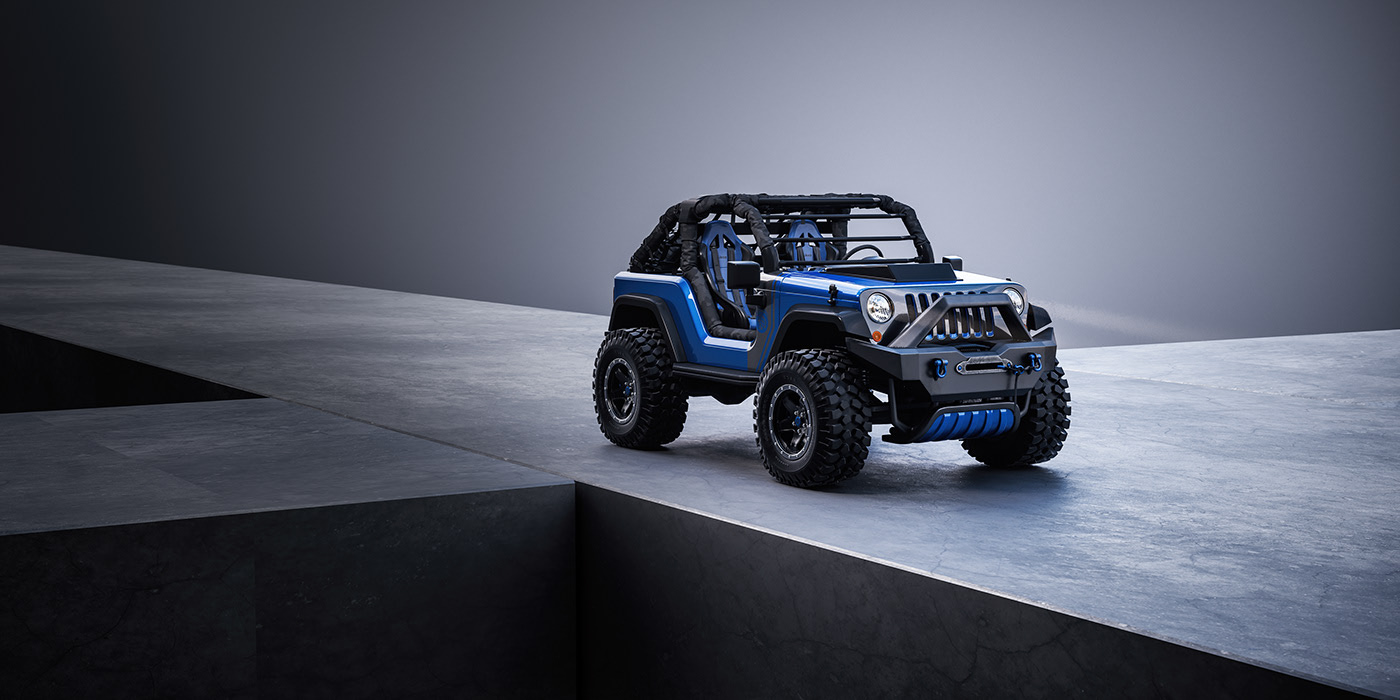 Este Jeep Shortcut pode muito bem ser o todo-o-terreno perfeito