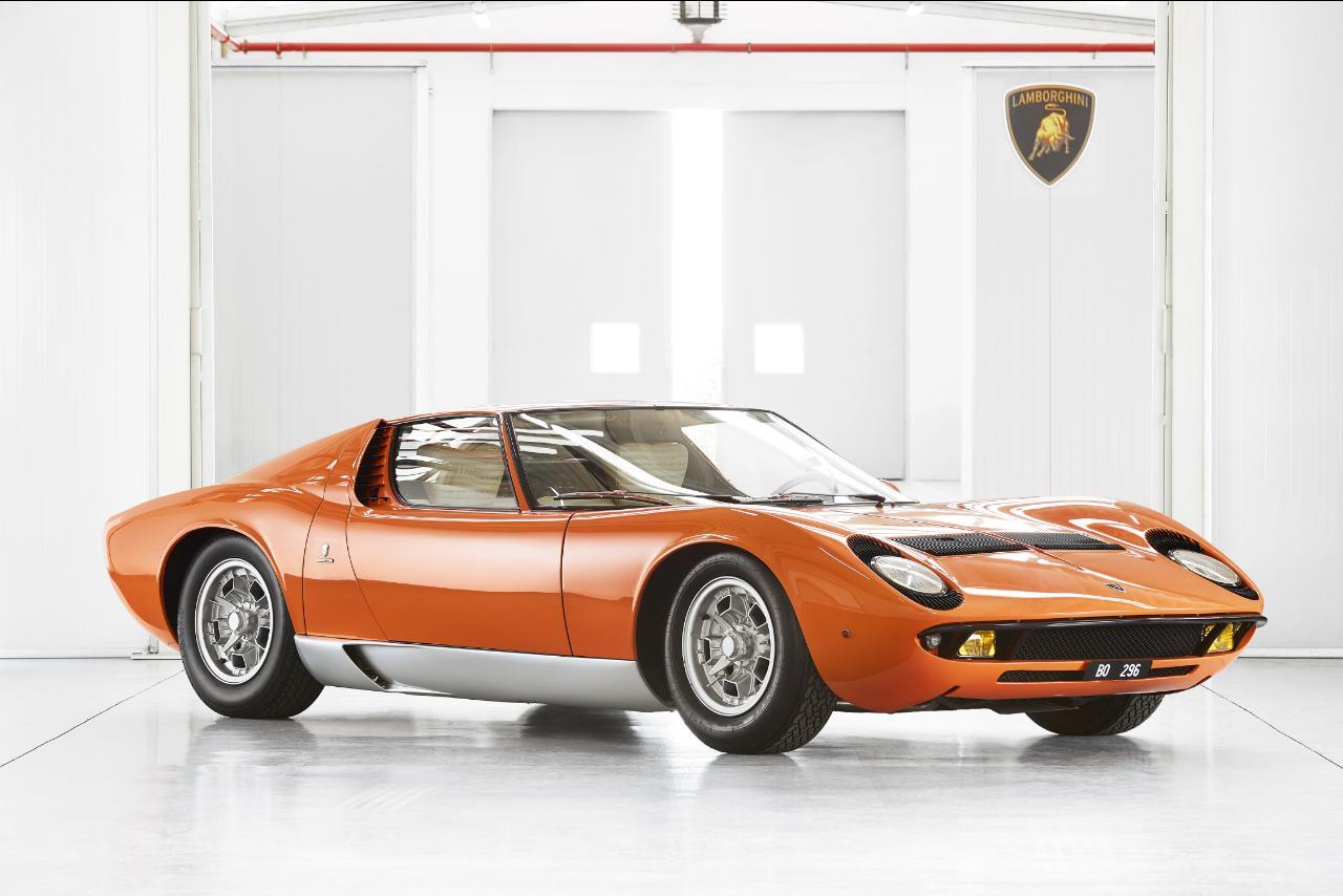 "Este é o Lamborghini Miura original de ""The Italian Job"""
