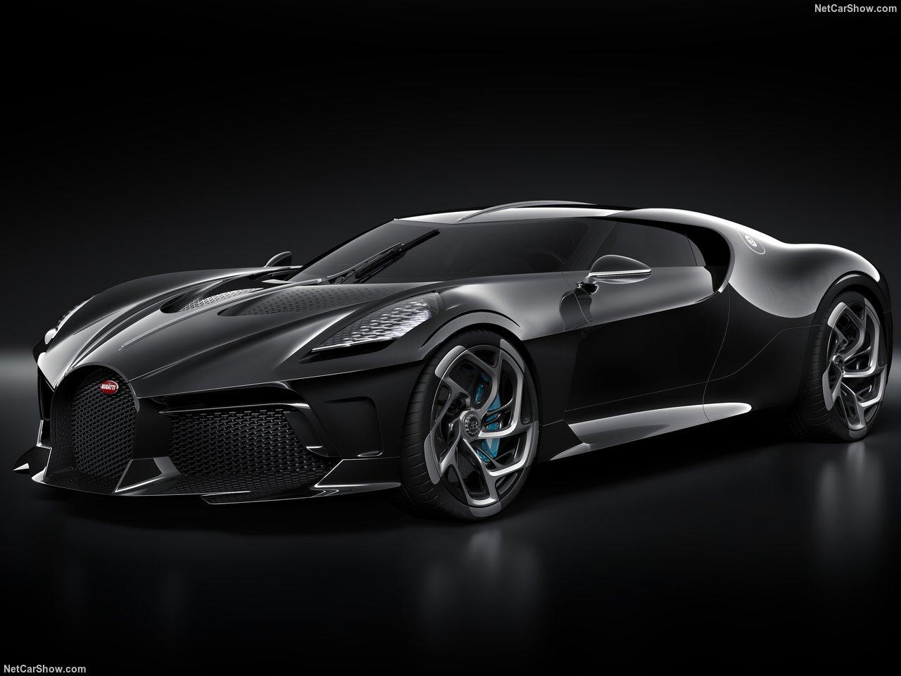 """Bugatti La Voiture Noire, a próxima """"bomba"""" de Cristiano Ronaldo"""