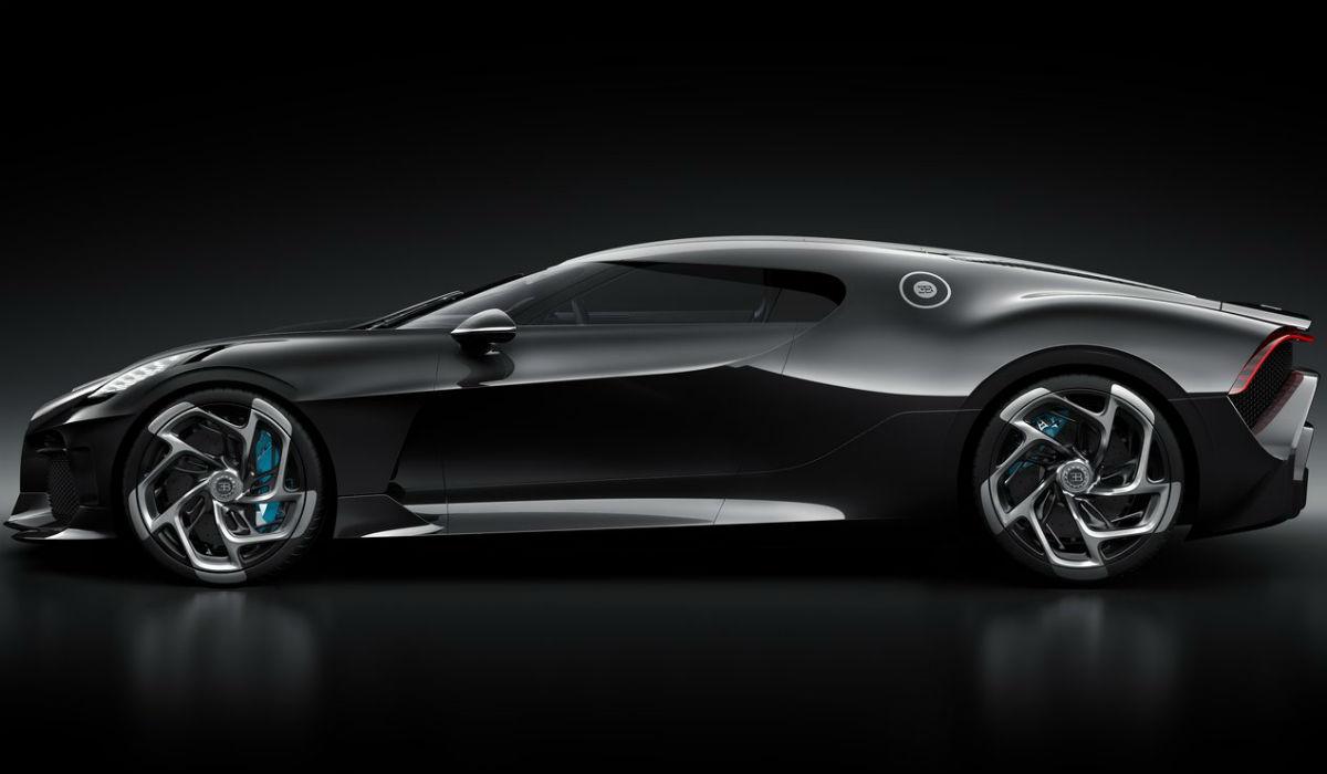 "Bugatti La Voiture Noire, a nova ""bomba"" de Cristiano Ronaldo é a mais cara do mundo"