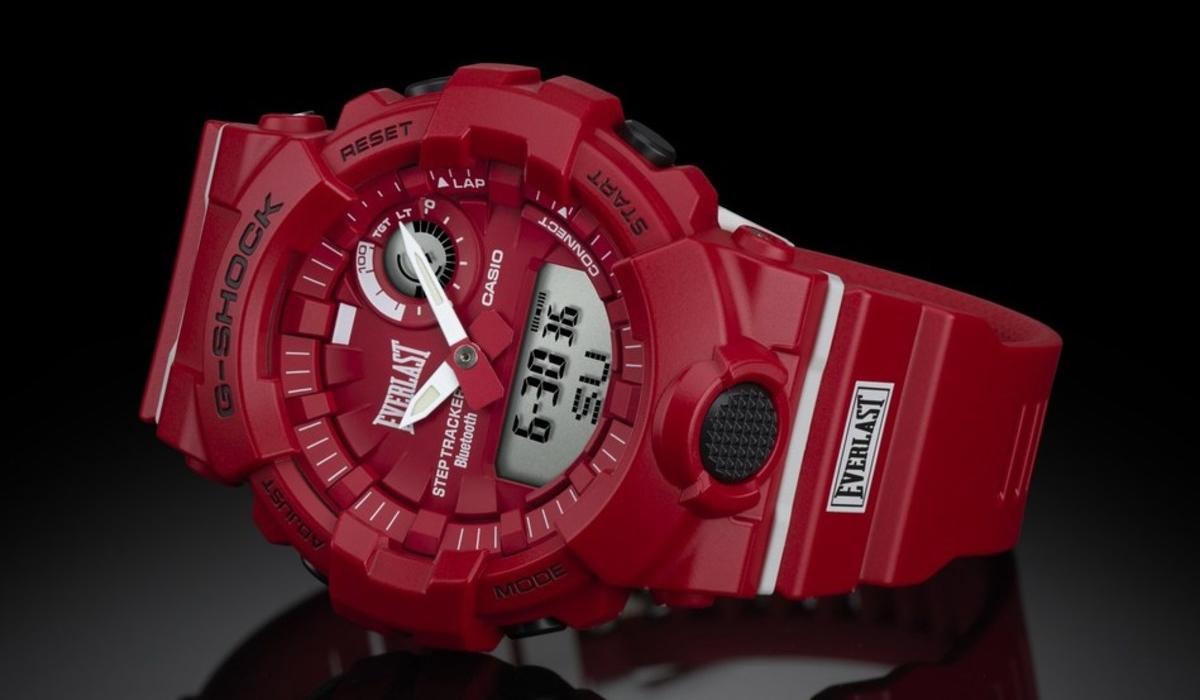 Everlast G-Shock, o relógio que vai ser o melhor amigo nas idas ao ginásio