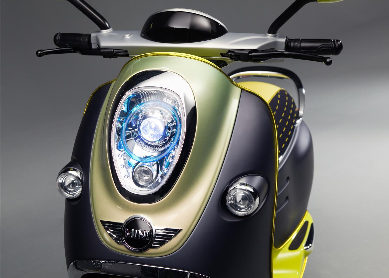Scooter E Concept é a visão da Mini para a mobilidade urbana em duas rodas