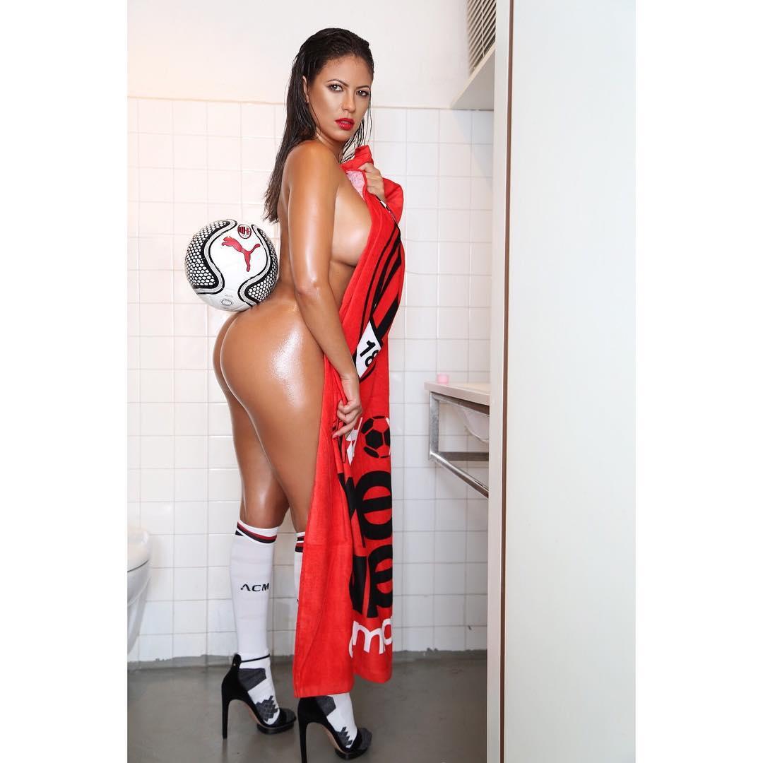 Fabiana Britto é o grande reforço do Milan para a próxima época