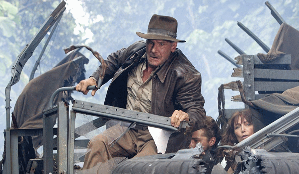Harrison Ford quer que Indiana Jones morra com ele
