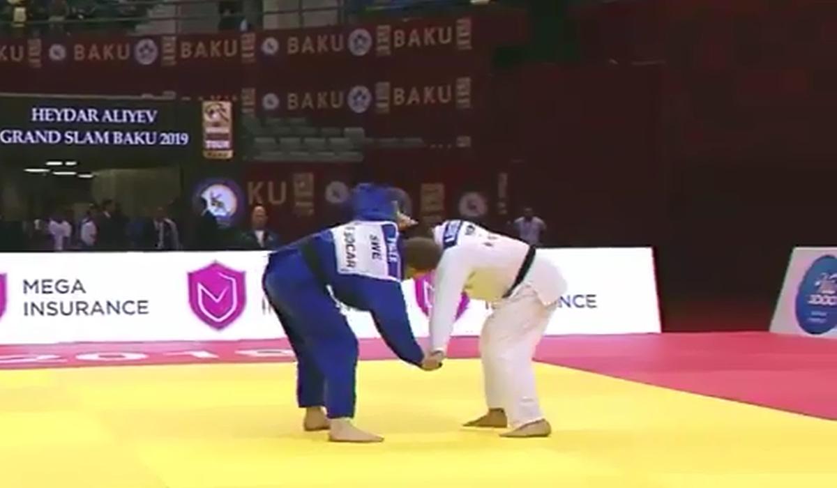 Judoca português desqualificado depois de deixar cair telemóvel em pleno combate