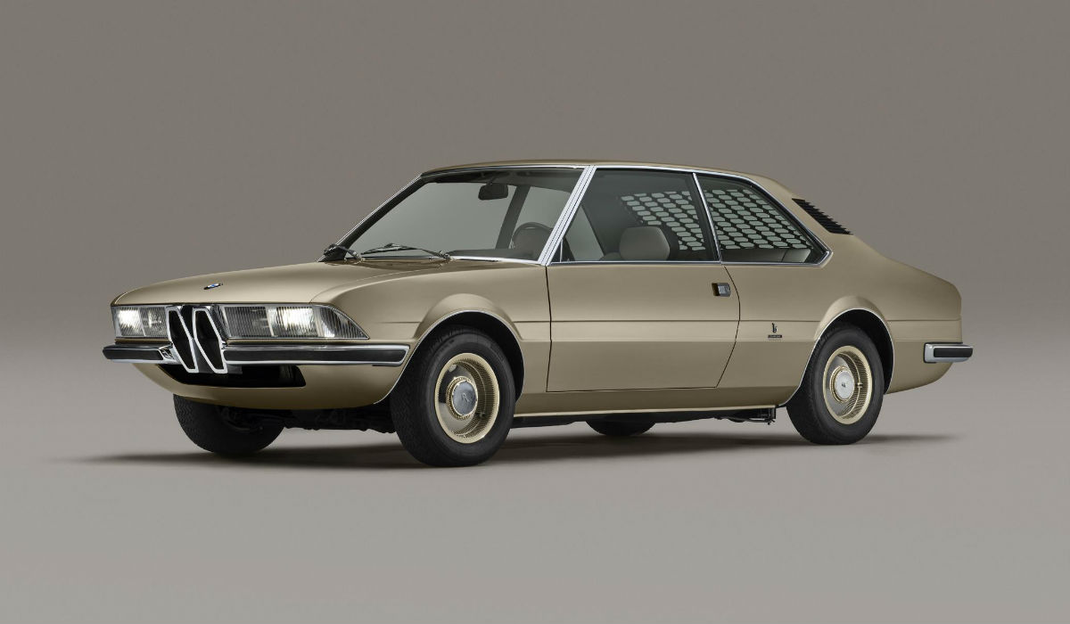 50 anos depois, BMW recria Garmisch Concept