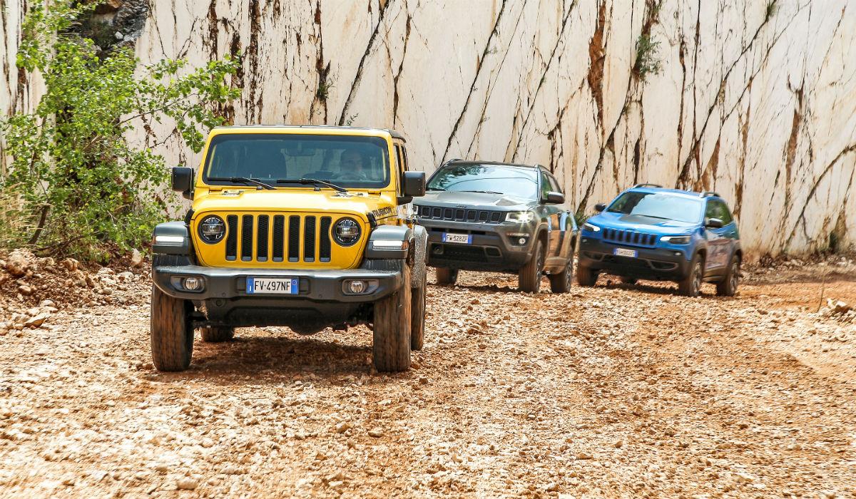 Jeep atualiza toda a sua gama de uma vez só
