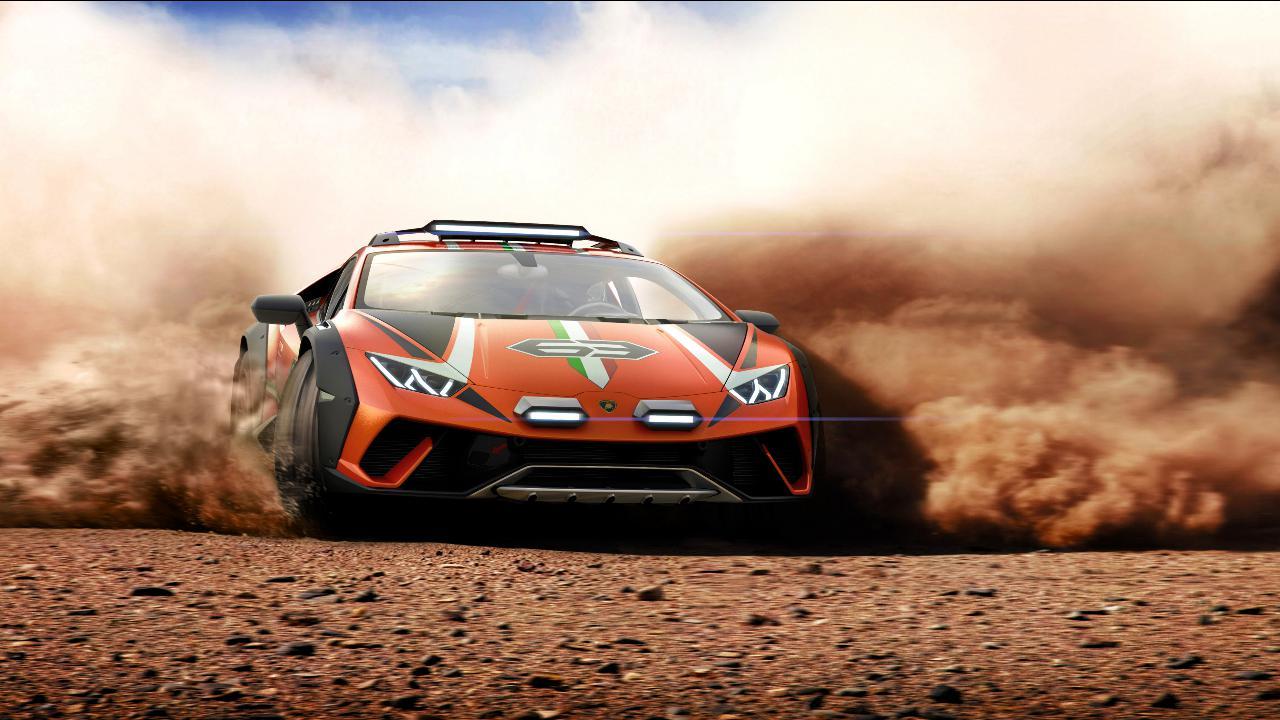 O Sterrato é o Lamborghini preparado para qualquer ambiente