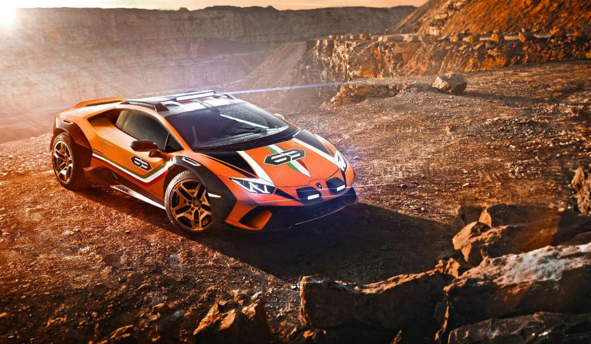 Sterrato, o Lamborghini preparado para qualquer ambiente