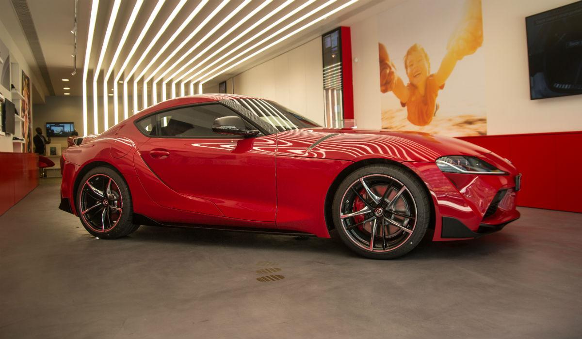 Toyota Supra, focado na dinâmica e no prazer de condução