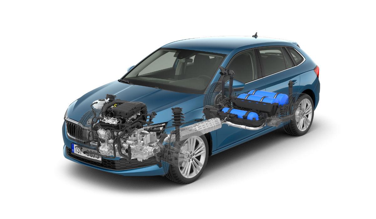 Skoda Scala G-TEC aponta à redução das emissões