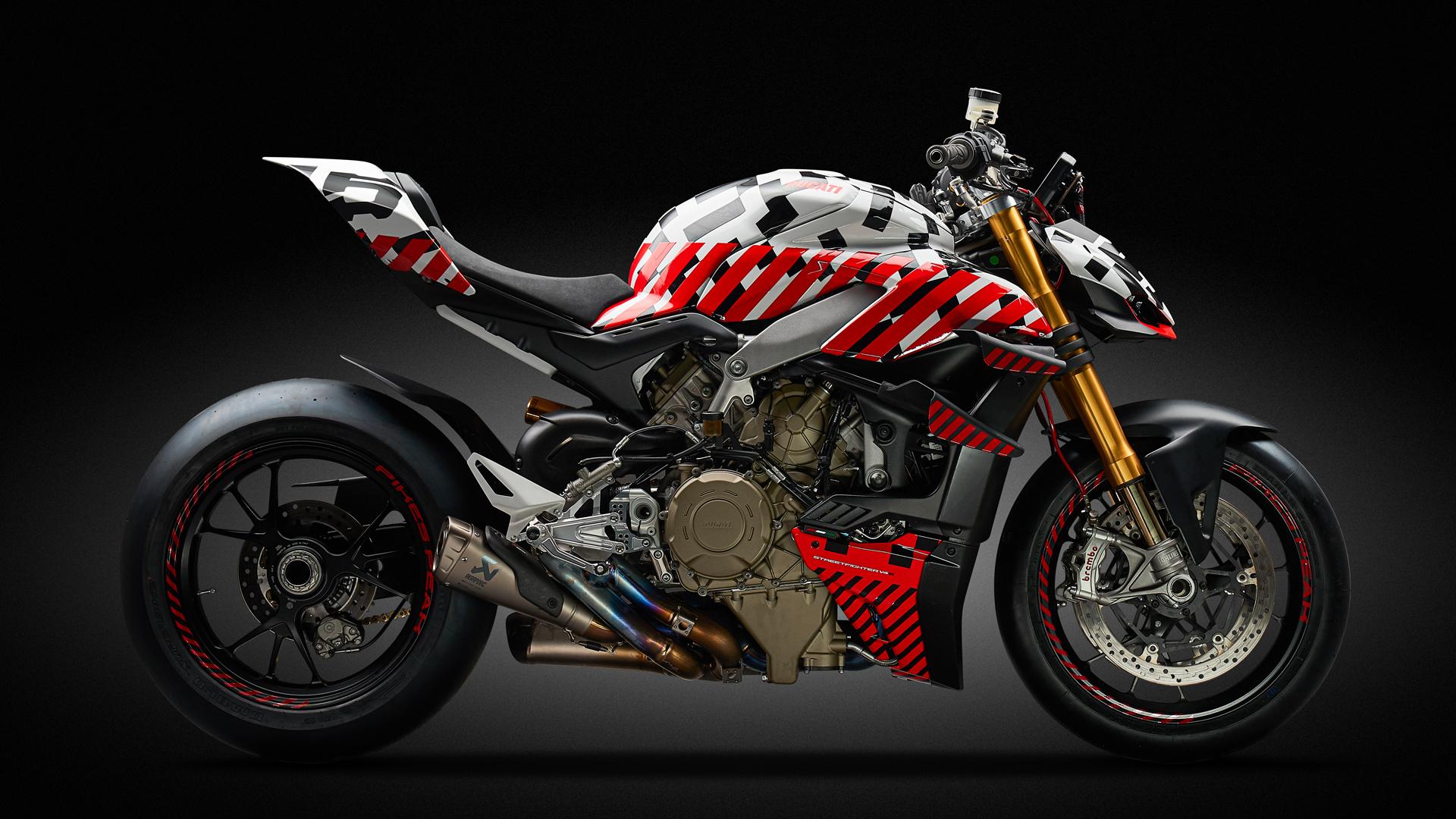 Ducati Streetfighter V4 vai acelerar na rampa de Pikes Peak