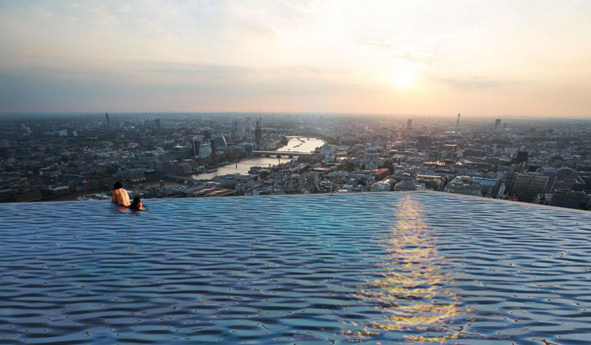 Hotel em Londres vai ter a primeira piscina infinita a 360º