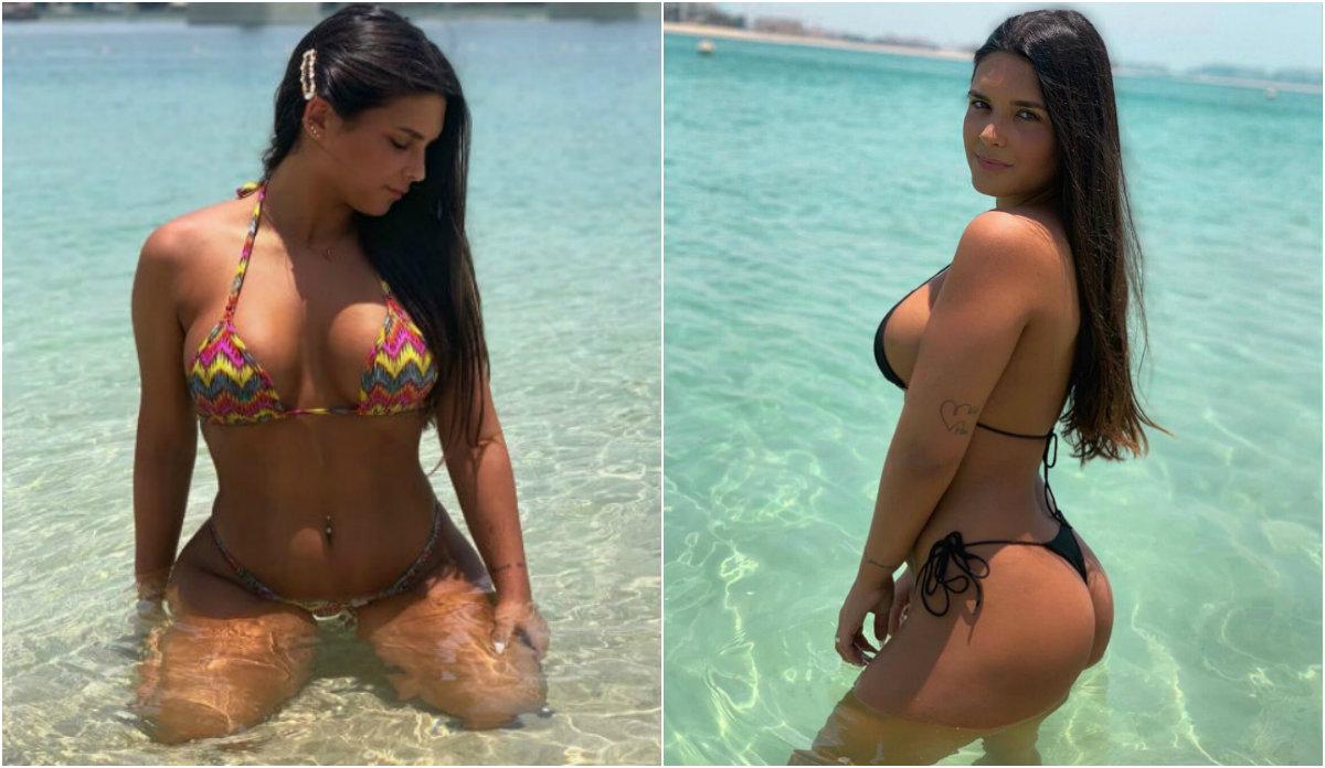 """Catarina Filipa, a """"bomba"""" que namora com ex-jogador do Benfica trata sempre bem o verão"""