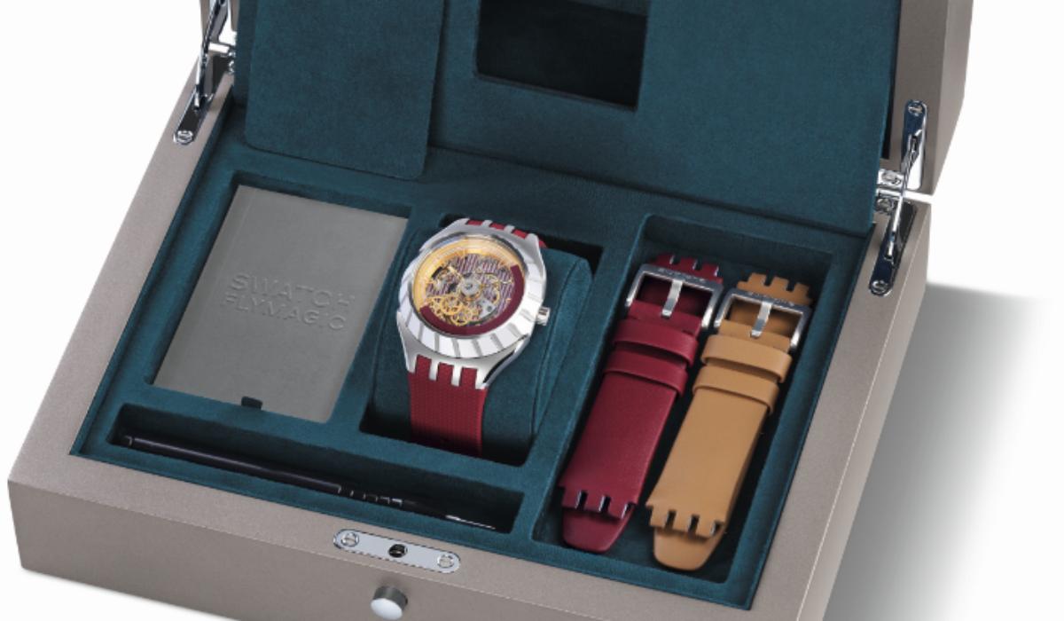 Swatch lança coleção com ponteiro dos segundos a rodar no sentido contrário