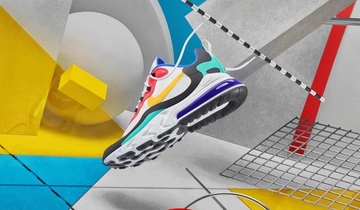 Nike Air Max 270 React une duas das maiores criações da marca