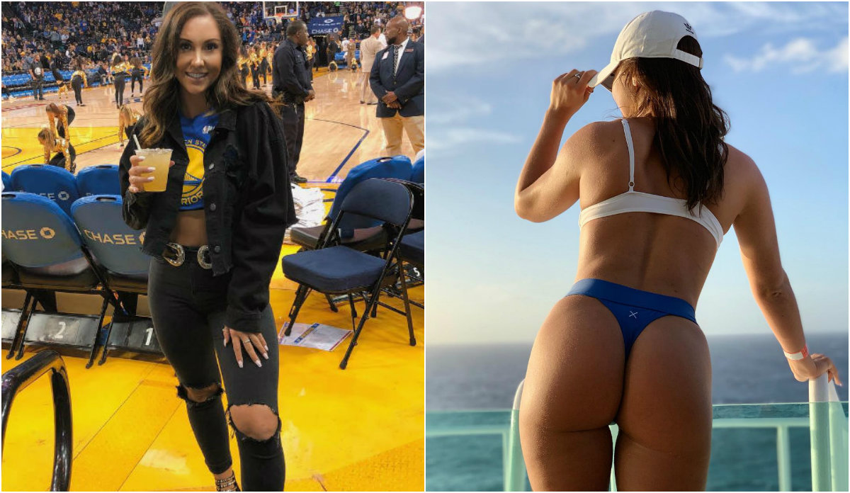 Katie Williams, do amor aos Warriors à desilusão provocada pelos Toronto Raptors