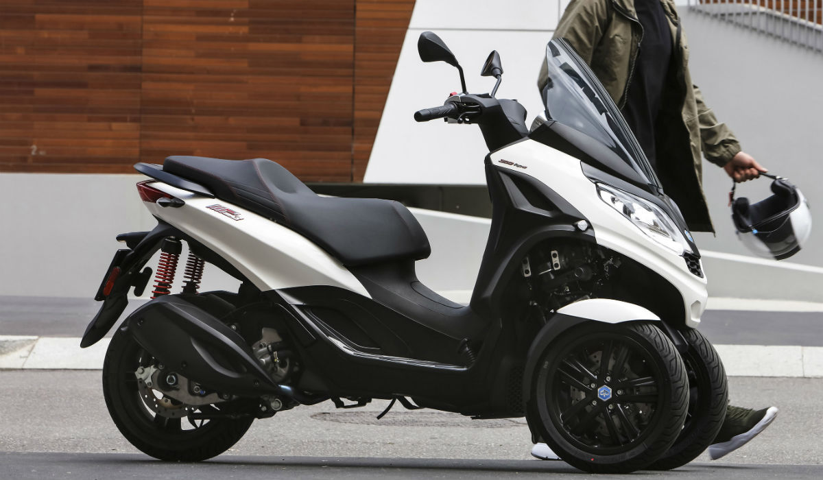 Piaggio MP3 HPE é a nova scooter de três rodas da marca