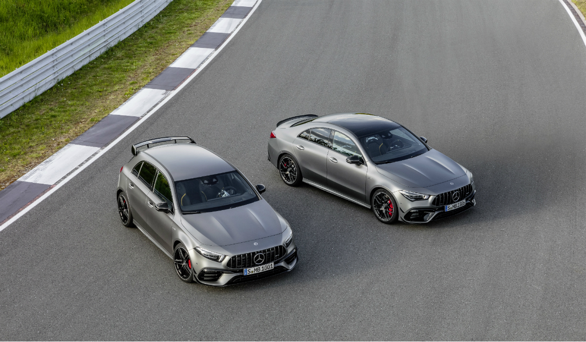 Mercedes apresenta duas novidades e com motor de outro mundo
