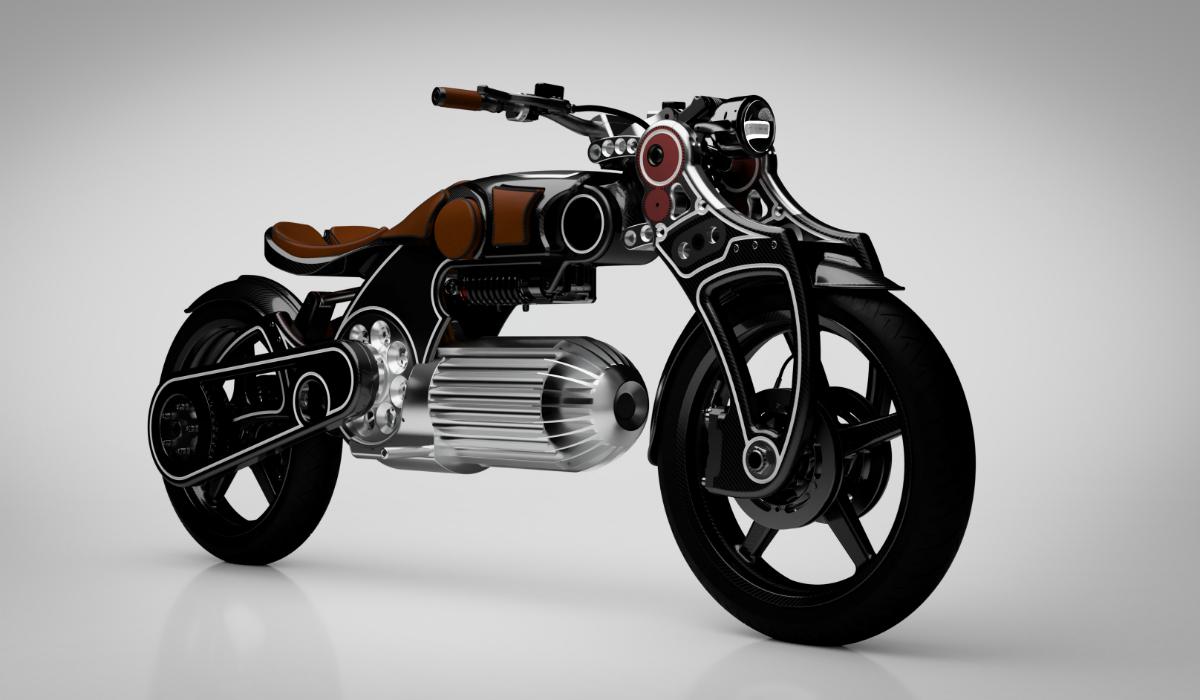 Curtiss Hades, a moto elétrica com design arrojado