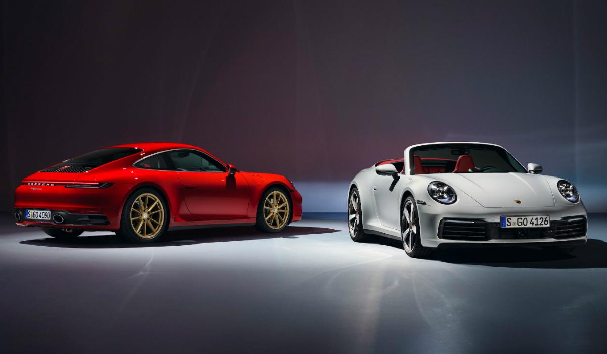 Porsche 911 Carrera, a versão mais acessível do desportivo alemão