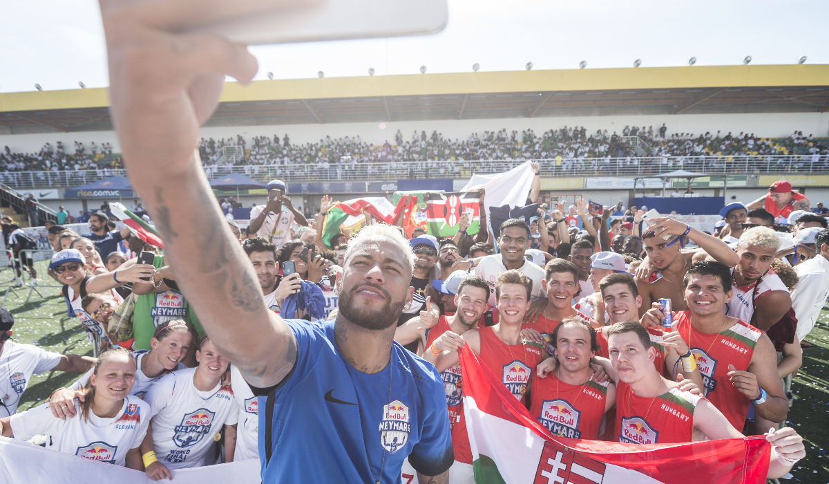 Portugal fez história no Red Bull Neymar Jr's Five