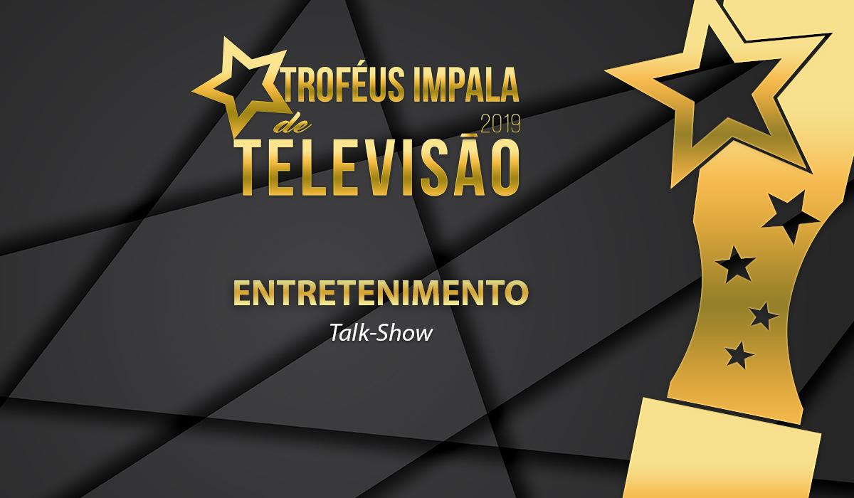 Troféus Impala de Televisão 2019: Nomeados para o prémio de Melhor Talk Show