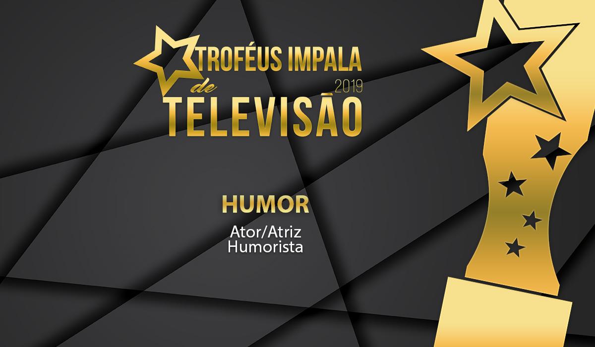 Troféus Impala de Televisão 2019: Nomeados para o prémio de Melhor Humorista