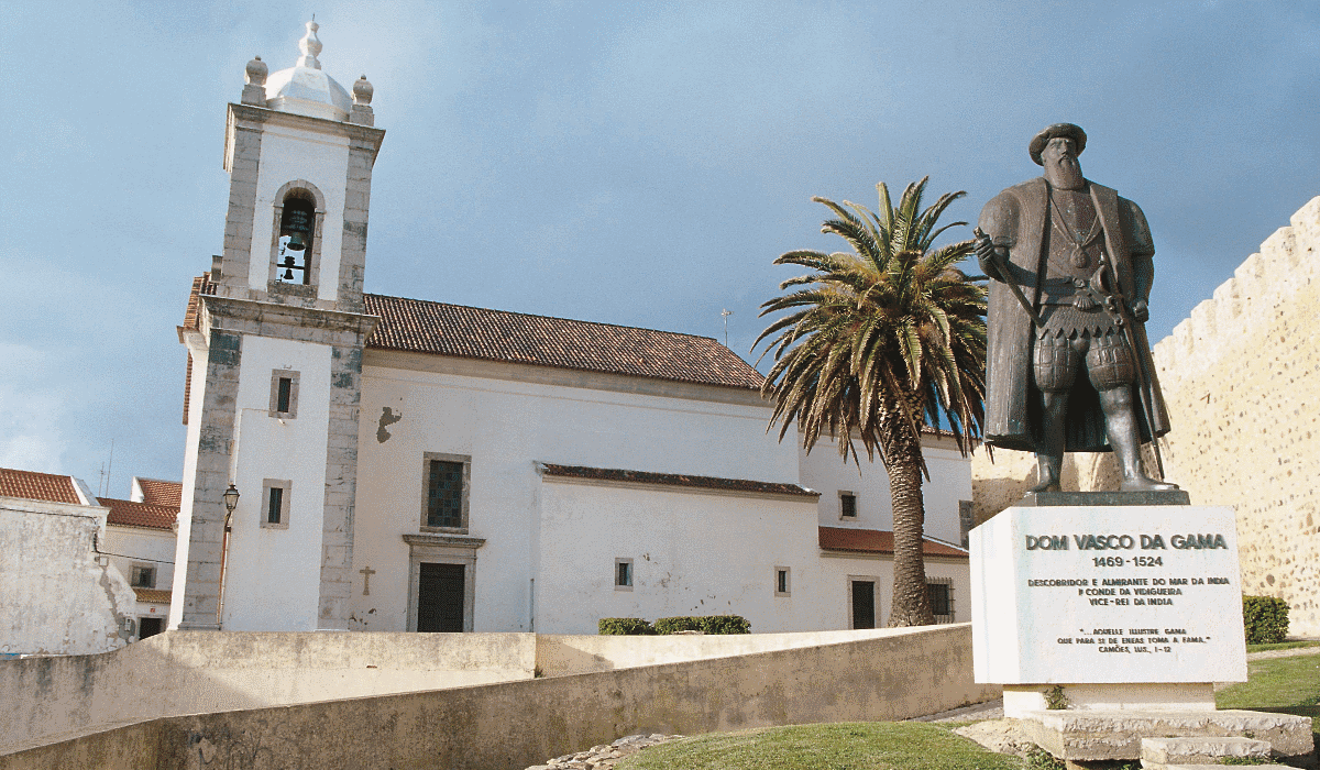Sines, a bela cidade no litoral Alentejano onde Vasco da Gama é estrela