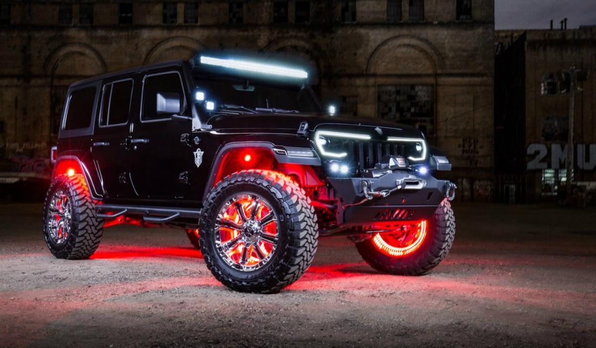O Jeep Wrangler mais radical que alguma vez viu