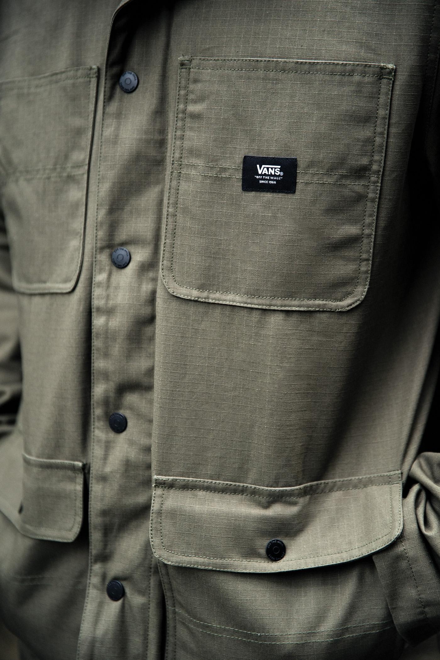Vans apresenta o resistente e confortável Drill Chore Coat