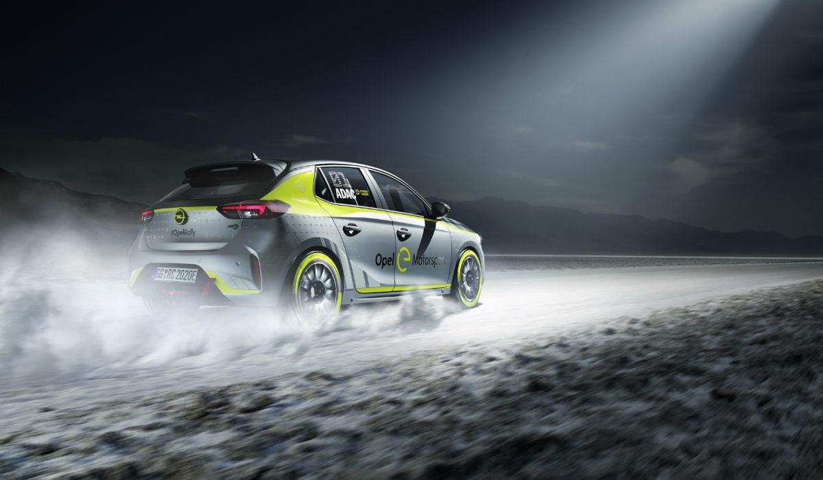 Opel desenvolve Corsa elétrico para o mundo dos ralis
