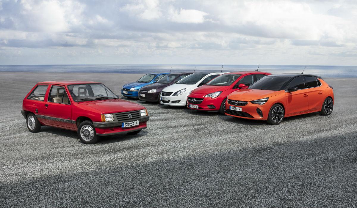 Opel Corsa, 37 anos de história e mais de 13 milhões de unidades vendidas