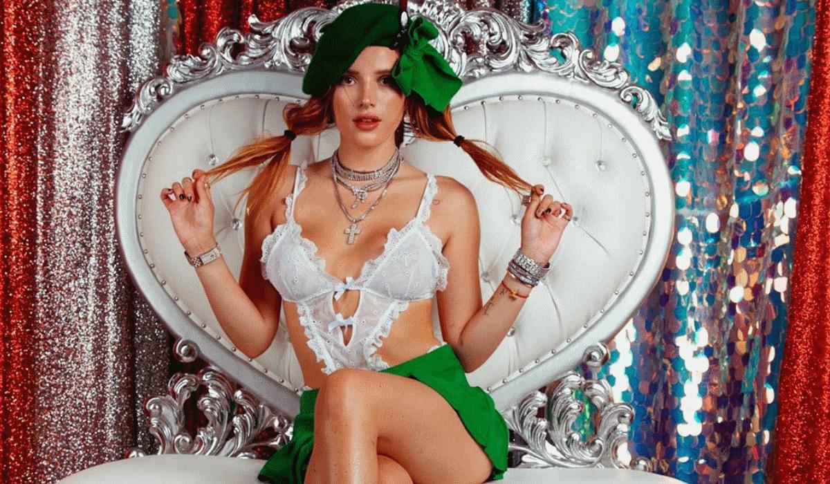 Bella Thorne estreia-se na realização com filme porno