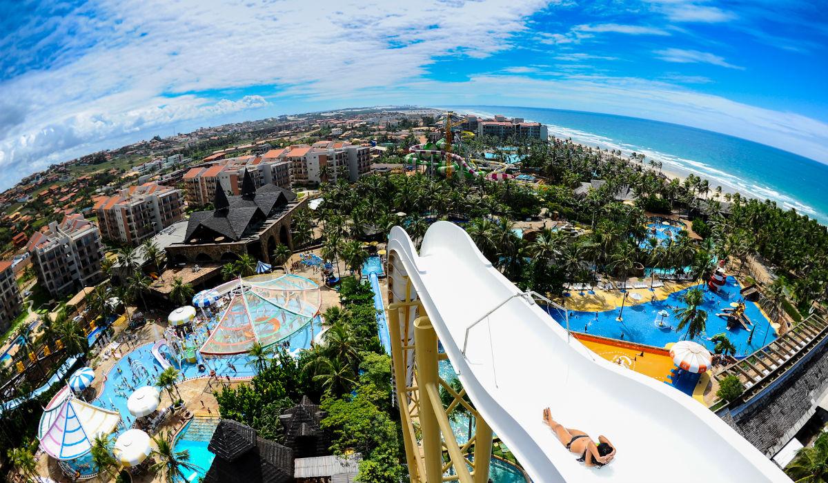 Beach Park Resort é o maior parque de diversões da América Latina