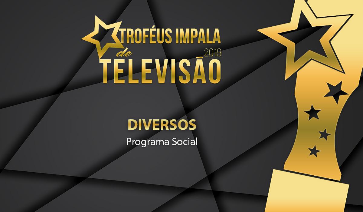 Troféus Impala de Televisão 2019: Nomeados para o prémio de Melhor Programa Social